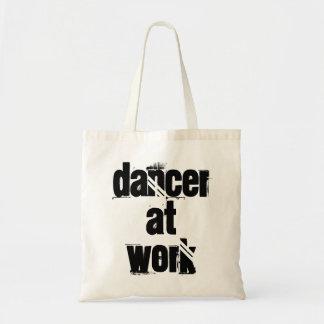 Dacner at Work White Tote Bag
