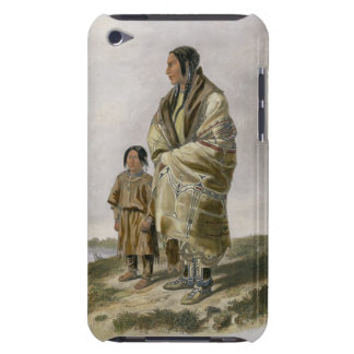Dacota Woman and Assiniboin Girl, plate 9 from vol Barely There iPod Case