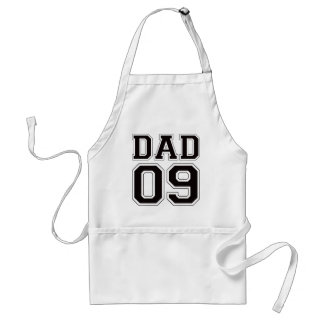 Dad 2009 - Black Standard Apron