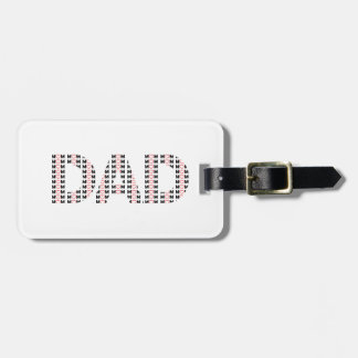 Dad also Mom Luggage Tag