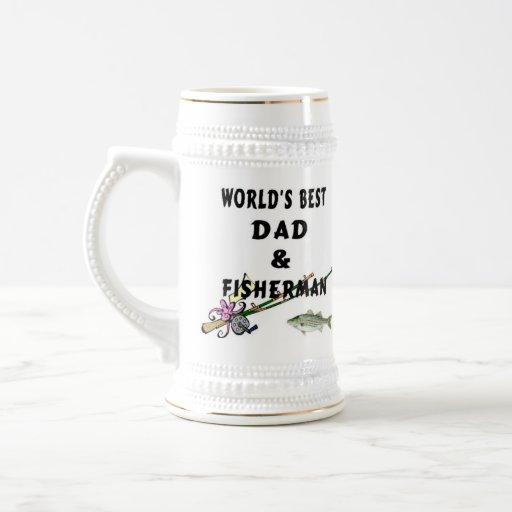 Dad And Fisherman Mug