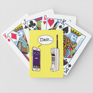 Dad? Bicycle Playing Cards