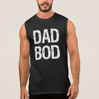 Dad Bod funny tank top