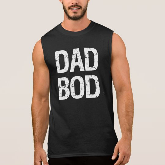 Dad Bod funny tank top