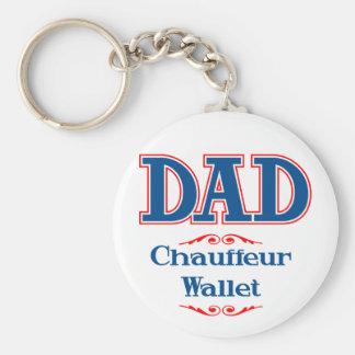 Dad Chauffeur Wallet Key Chains