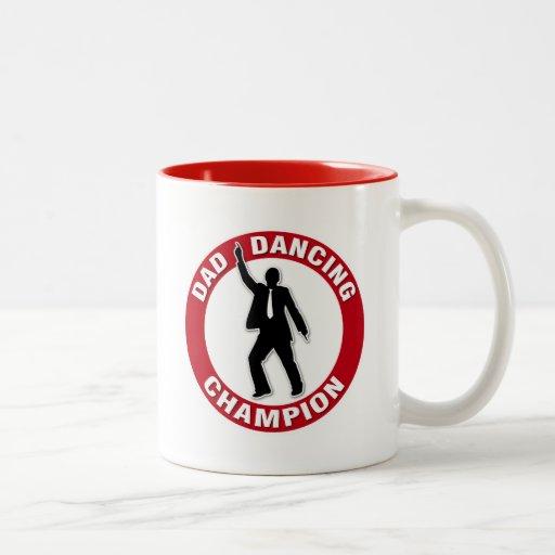 Dad Dancing Champion - Funny Father's Day Mug