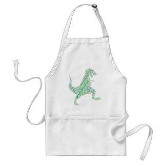 Dad Dinosaur Dadasaurus Standard Apron