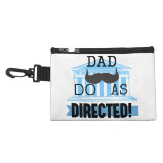"Dad ""Do As Directed"" Accessory Bag"