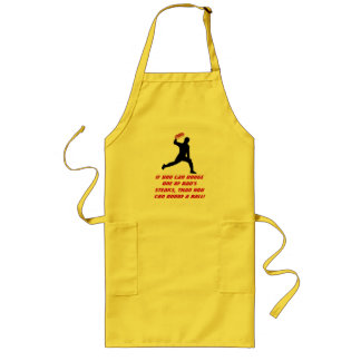 Dad Dodgeball Long Apron