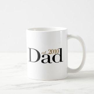 Dad Est 2010 Mugs