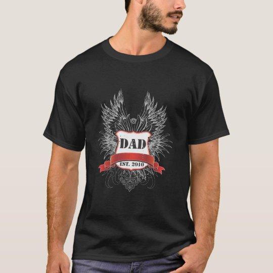 Dad Est. 2010 T-Shirt