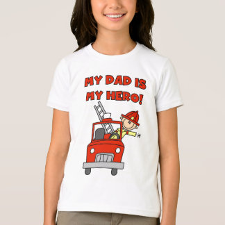 Dad Firefighter Hero T-Shirt