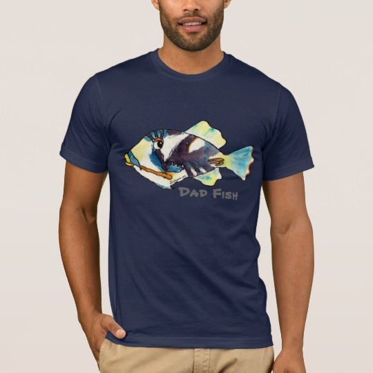 Dad Fish T shirt