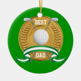 Dad Golf Ornament - SRF