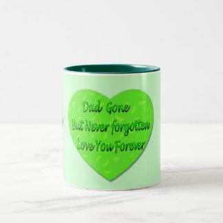 Dad Gone But Never Forgotten Love You Forever Mug