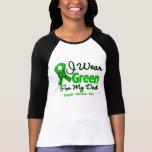 Dad - Green  Awareness Ribbon T-shirts