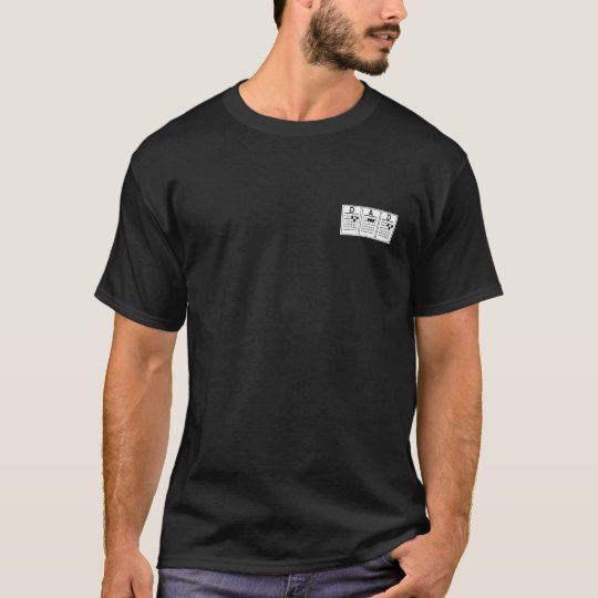 DAD guitar chords T-Shirt