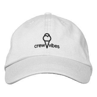 Dad Hat - crew vibes Embroidered Baseball Caps