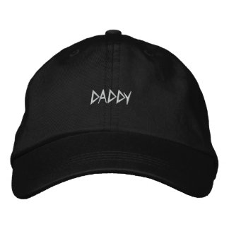 Dad Hat DADDY Embroidered Cap