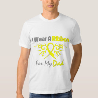 Dad - I Wear A Yellow Ribbon Military Support Shirts
