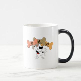 Dad in Dog Treats Coffee Mug