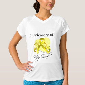 Dad - In Memory of Military Tribute T-shirt