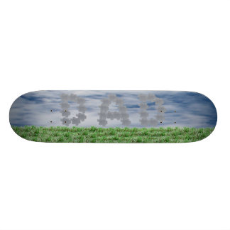 Dad in The Clouds 21.6 Cm Old School Skateboard Deck