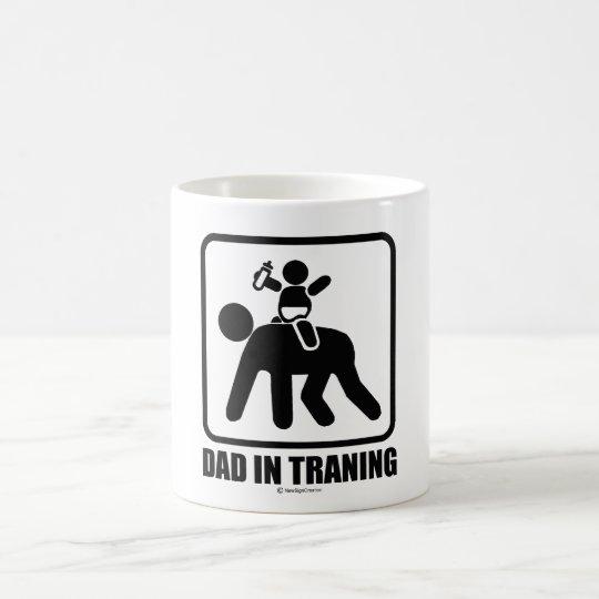 Dad in training coffee mug