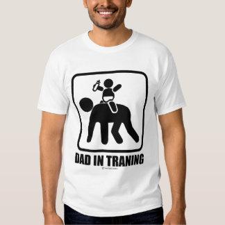 Dad in training tshirts