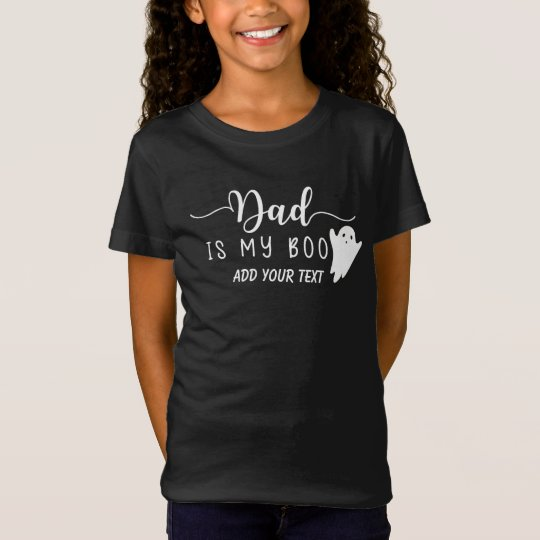 Dad is my Boo Cute Halloween Ghost T-Shirt