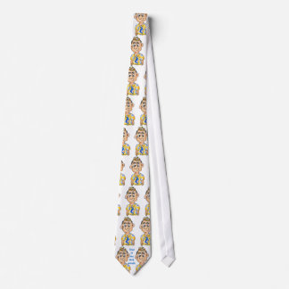 Dad is my ROLL model - Funny Necktie