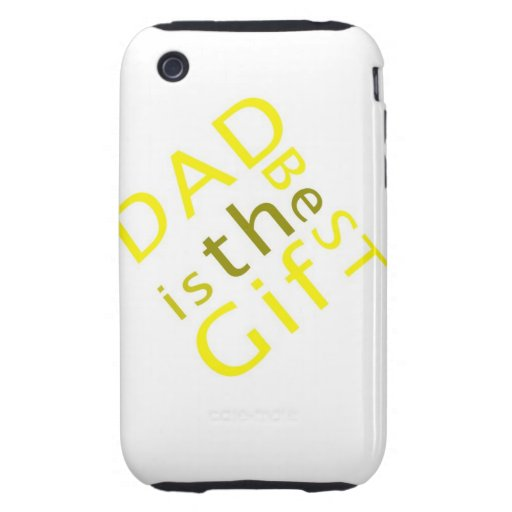 Dad is the Best Gift  iPhone 3G/3GS Case-Mate iPhone 3 Tough Cover