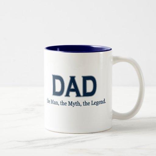 Dad Man Myth Legend Mug