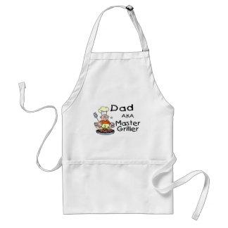 Dad Master Griller Aprons