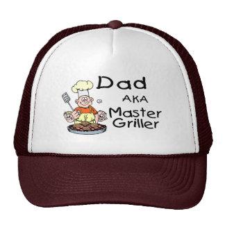 Dad Master Griller Trucker Hats