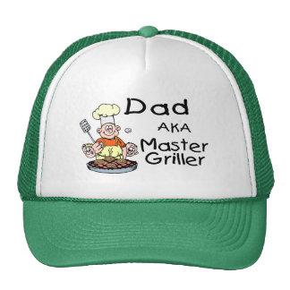 Dad Master Griller Mesh Hats