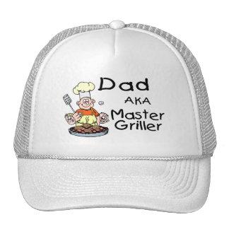 Dad Master Griller Hat