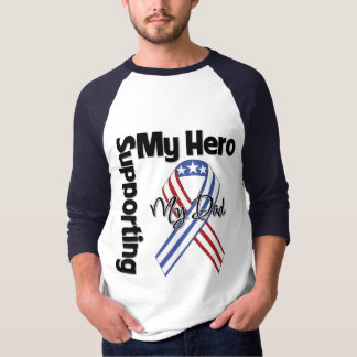 Dad - Military Supporting My Hero T-Shirt