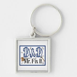 Dad Mr Fix It Keychain