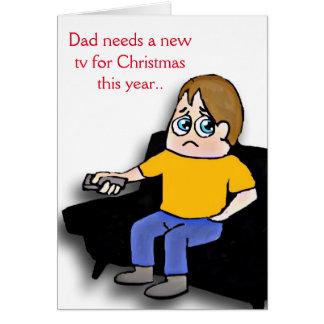 Dad needs a new tv card