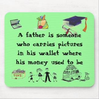 dad no money mouse pads