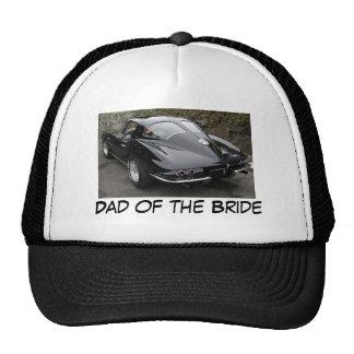 Dad of the Bride Corvette Trucker Hat