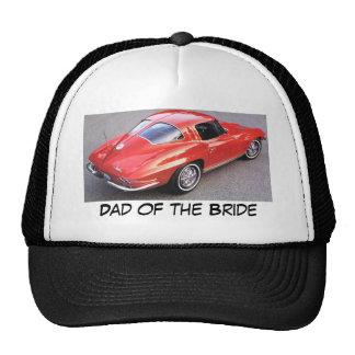 Dad of the Bride Corvette Hats