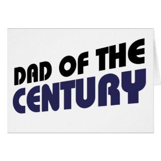 Dad of the Centrury Greeting Card