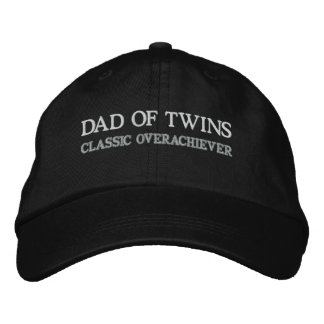 DAD OF TWINS EMBROIDERED CAP
