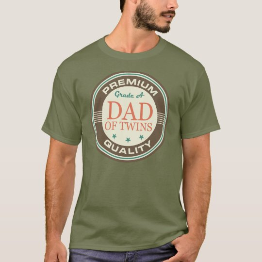 Dad of Twins Funny T-Shirt