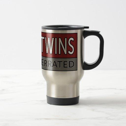 Dad of Twins SLEEP IS OVERRATED Mugs