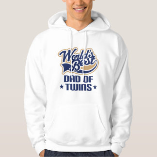 Dad Of Twins (Worlds Best) Father's Day Gift Hoodie