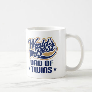 Dad Of Twins (Worlds Best) Gift Mug