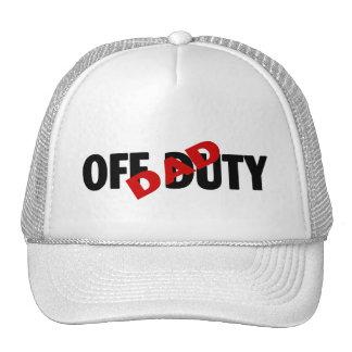 Dad Off Duty (Blk) Cap